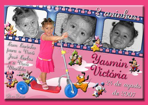 Convite Personalizado Infantil