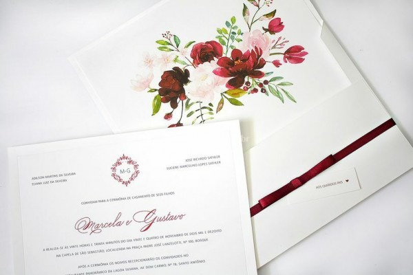 Modelo Zara De Folha De Outono Convites Personalizados