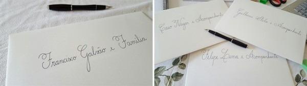 23 Ideias De Caligrafia Para Convites De Casamento