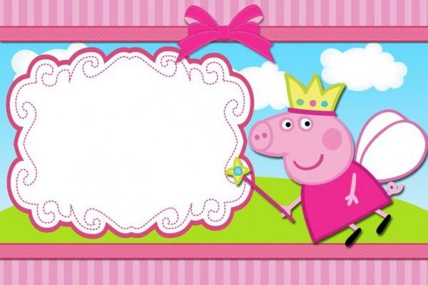 Convite Peppa Pig 105 Png Grátis Para Baixar Jpg,png