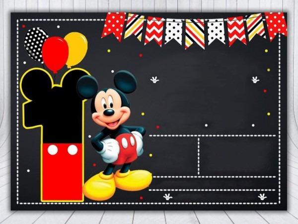 Convite Mickey E Minnie 299 Png Grátis Para Baixar Jpg,png