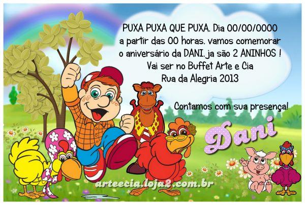 Convite Cocoricó