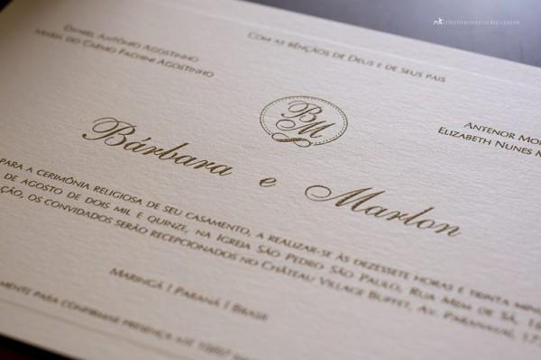 Linha Bora Bora  Convite De Casamento Prático E Versátil, Mas Com