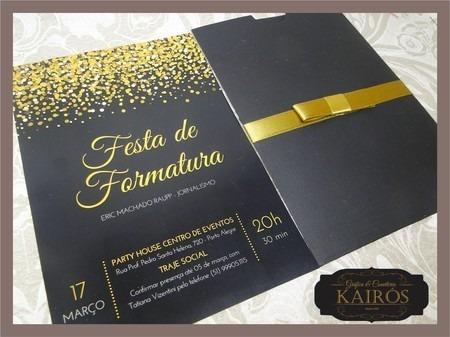 Convite De Formatura 34
