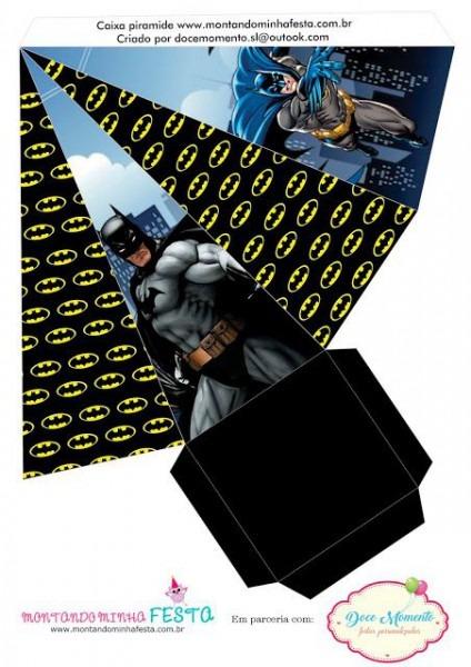 Kit Digital Batman Grátis Para Imprimir!