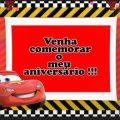 Convite Animado Carros
