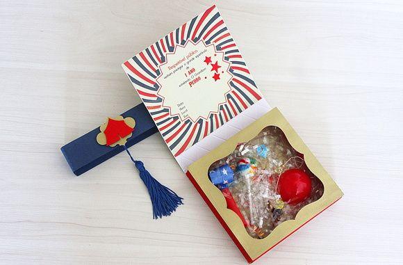 Convite Caixa Luxo  Dentro Tem Um Kit Alegria, Contendo  Um