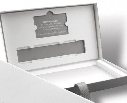 Luxury Credit Card Packaging