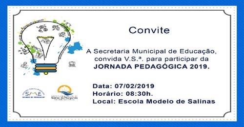 Prefeitura De Salinas Da Margarida Formula Convite Para Abertura