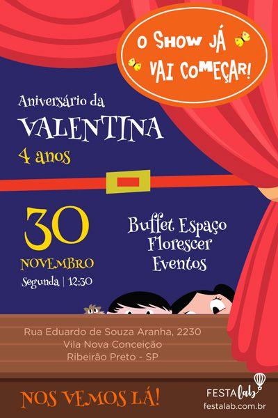 Pin De Bruna Em Show Da Luna Aniversário Em 2019