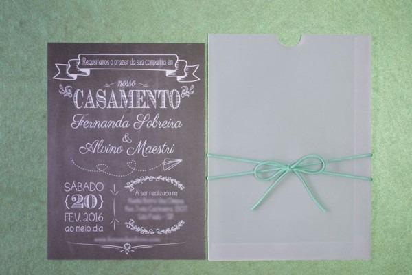 Pin Em Convites De Casamento Vintage