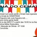 Convite Para Festa Junina Comunitaria