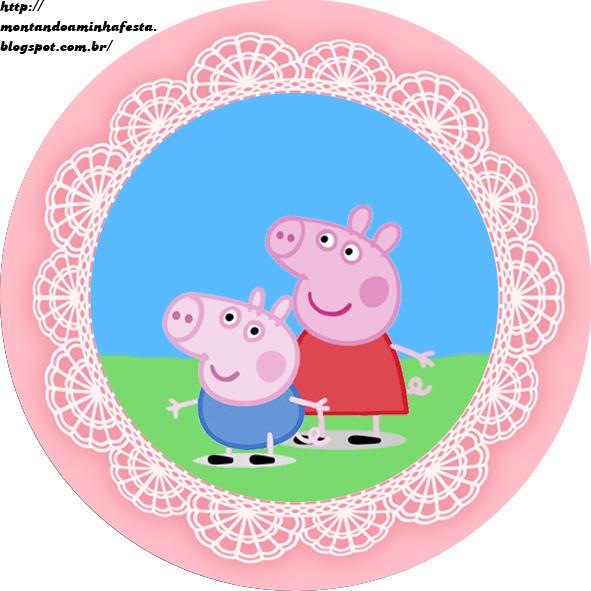 Convite Peppa Pig, Convites Para Imprimir, Convites Para Imprimir