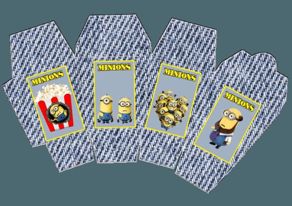 Kit De Aniversário  Minions  (amarelinhos Do Filme  Meu Malvado