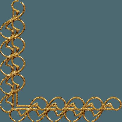 Borda Dourada Para Convite Png Vector, Clipart, Psd
