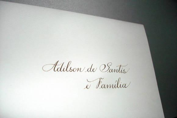 Calígrafo Casamento