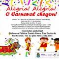 Convite De Baile De Carnaval Na Escola