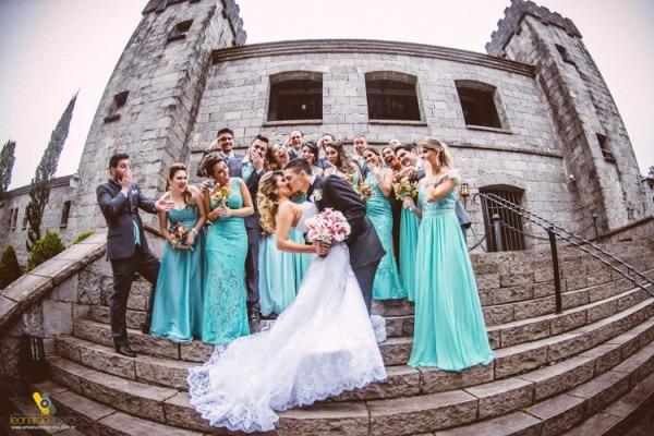 Casamento Camila E Lucas No Castelo Medieval Em Caxias Do Sul