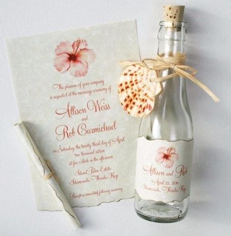 Convites Casamento Na Praia (ideias)