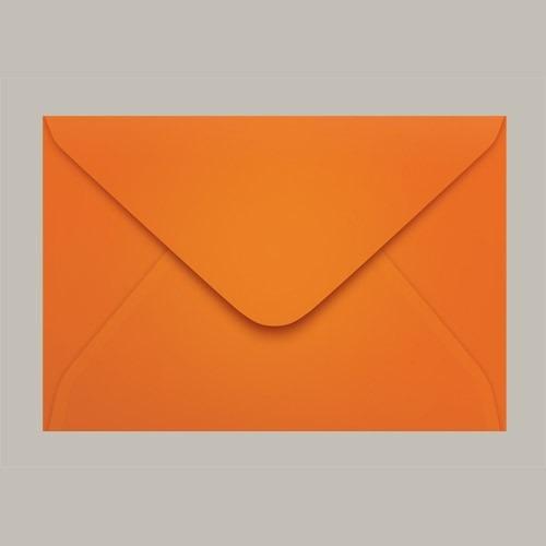 Envelope Colorido Convite Cartagena Laranja Ccp470 13 160mmx235mm