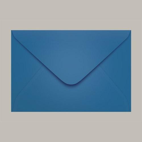 Envelope Colorido Convite Grécia Azul Royal Ccp470 08 160mmx235mm