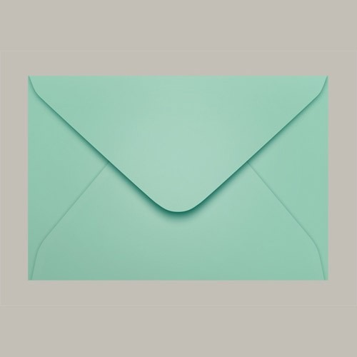 Envelope Colorido Convite Tahiti Verde Claro Ccp470 10 160mmx235mm