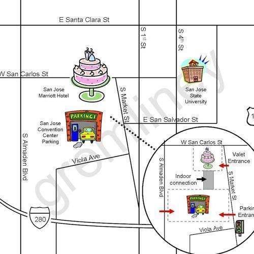Como Criar Mapas Para Os Convites De Casamento