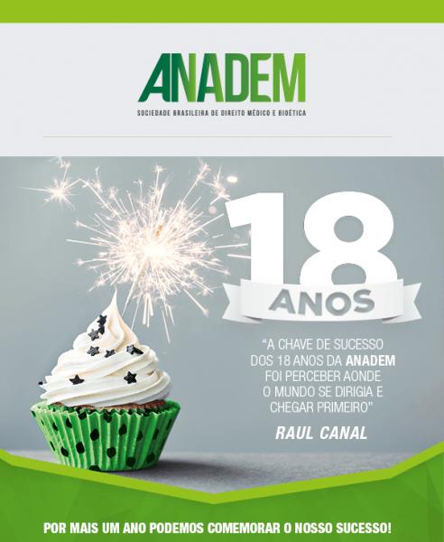Anadem Comemora 18 Anos – Anadem