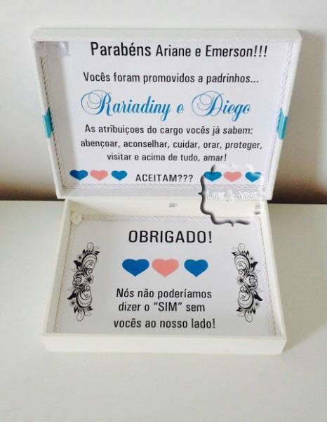 Excepcional Convite Para Padrinhos De Casamento Engraados