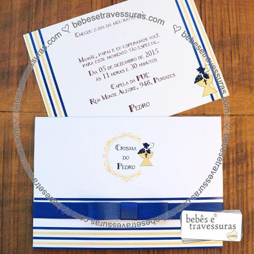 Convite Modelo 32p Com Envelope