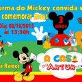 Convite Da Casa Do Mickey