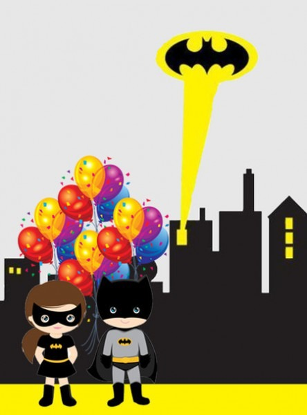 Convite Do Batman  30 Ideias Para Você Se Inspirar