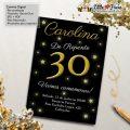 Convite De Aniversario 30 Anos