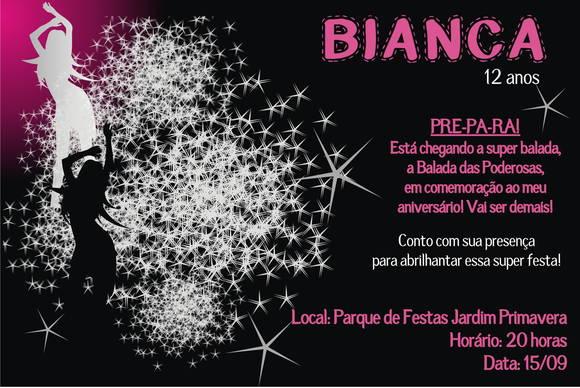 Convite Aniversario Balada 4 » Happy Birthday World