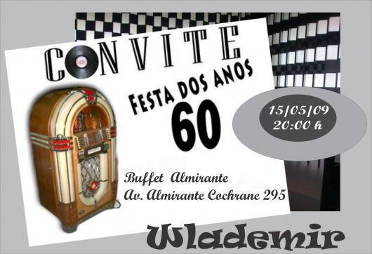 Convite Anos 60 – As Inspirações Mais Sensacionais Para Sua Festa!