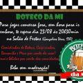 Convite Virtual Aniversario Boteco