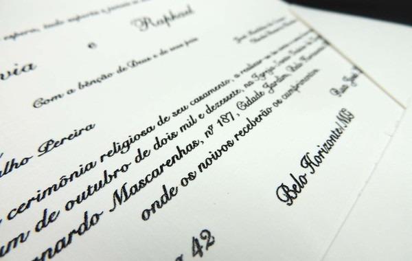 Convite Casamento Clássico Iniciais Em Pérola Cód 616 No Elo7