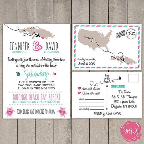 Convites De Casamento Para Noivos Que Amam Viajar