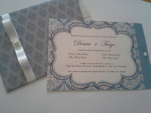 Convite De Casamento Provencal