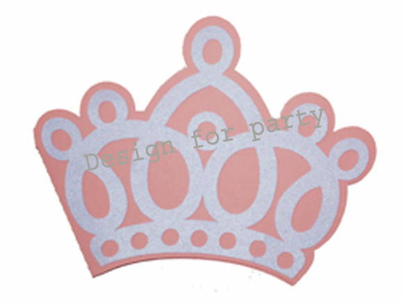 Convite Coroa De Princesa No Elo7