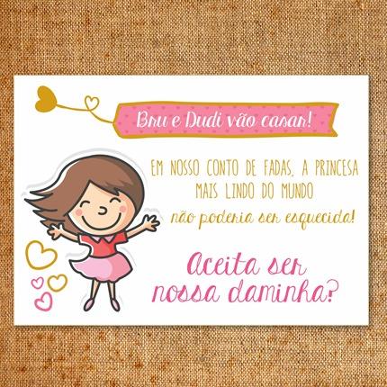 Convite Daminha E Florista