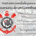 Convite De Aniversario Corinthians