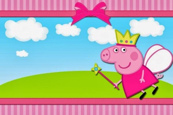 Moldes De Convite Para Festas Do Tema Peppa Pig