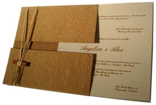 Convite De Casamento Artesanal Passo A Passo