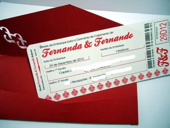Convite De Casamento Cod 1061