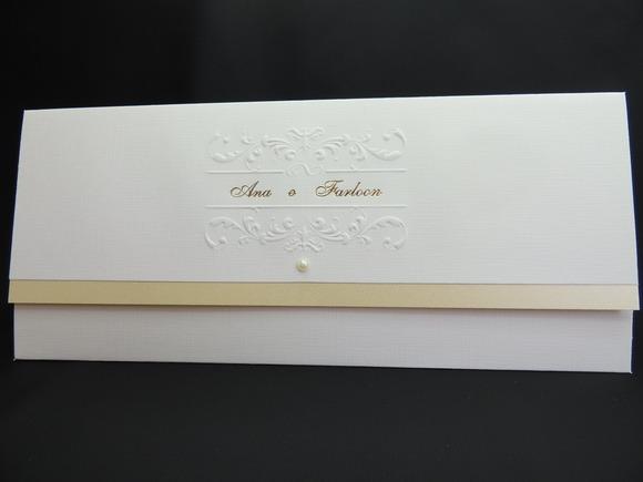 Convite De Casamento Clássico No Elo7