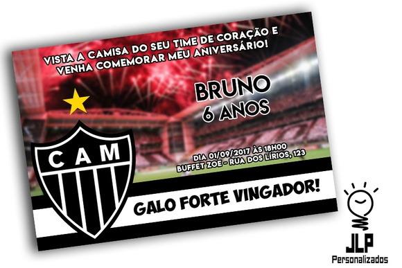 Convite Digital Aniversario Atletico Mineiro