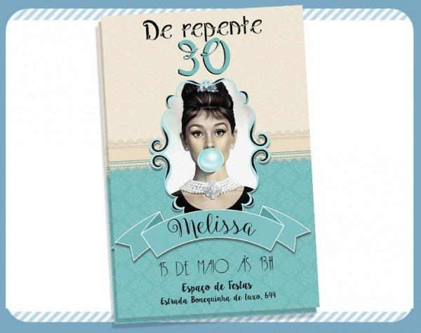 Convite Digital Bonequinha De Luxo No Elo7