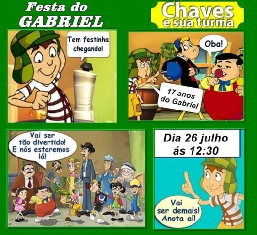 Convite Do Chaves