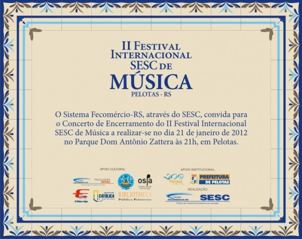 Concertos Ao Ar Livre Marcam últimos Dias Do Ii Festival